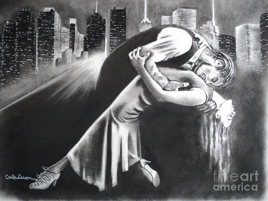 True Romance Drawing by Carla Carson