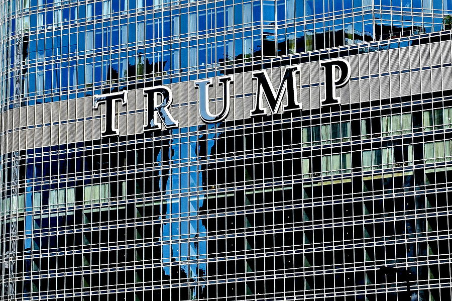 Trump Tower Marquee Photograph