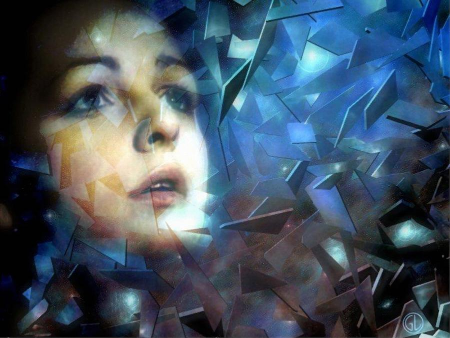 Abstract Digital Art - Trust by Gun Legler