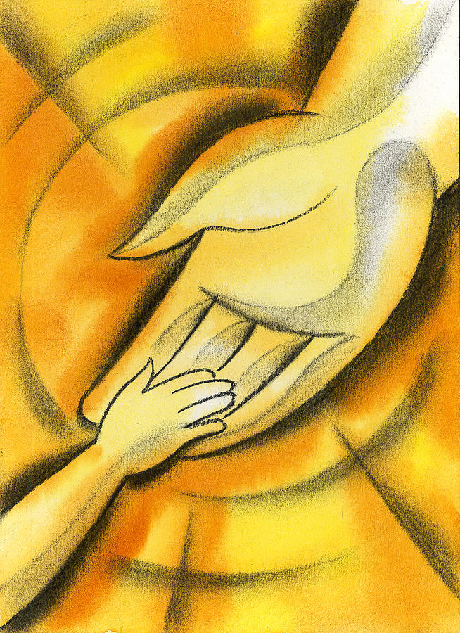 Hand Holding Hope Human Human Being Illustration Innocence Joining Lady Limb Love Mam Mama Mamma Mom Momma Mother Motherhood Mothering Mum Naive Nurture Offering Pair Parent People Person Picture Possibility Potential Power Protect Protection Reaching Regard Relationship Relative Safeguard Safety Secure Security Start-up Startup Support Supportive Team Teamwork Togetherness Trust Painting - Trust by Leon Zernitsky