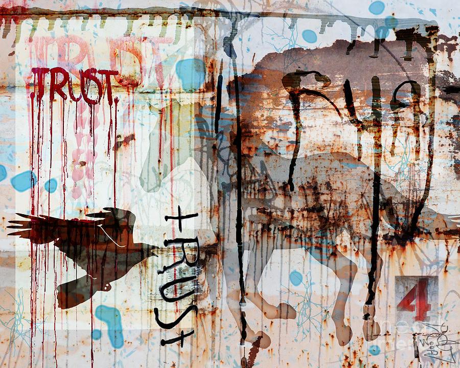 Horse Digital Art - Trust Me by Judy Wood