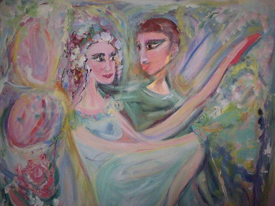 Trust Painting - Trust Me On This by Judith Desrosiers