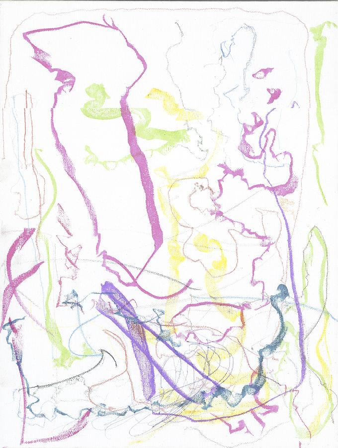 Trust Painting - Trust On Canvas by Joshua Burke