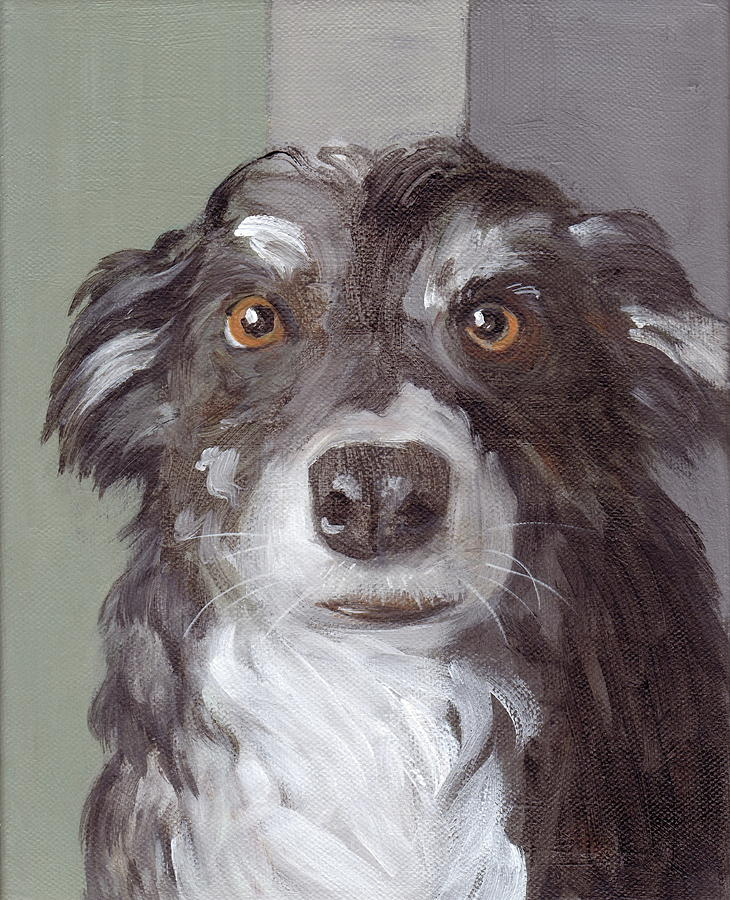 Trusting Eyes Painting - Trusting Eyes by Kazumi Whitemoon
