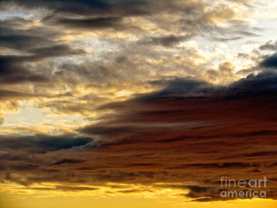 Sky Photograph - Truth by Qs House of Art ArtandFinePhotography