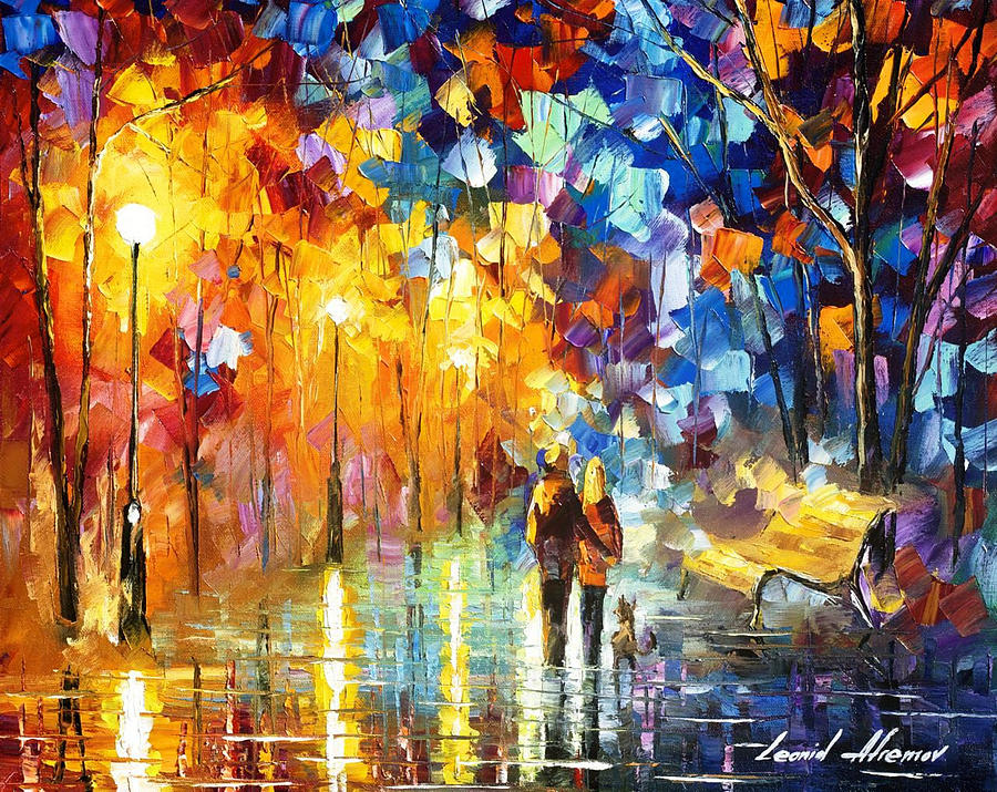 art gallery painting truth of palette knife oil painting on canvas by leonid