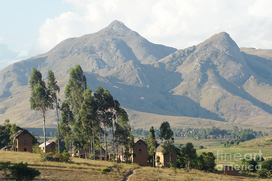 Africa Photograph - Tsaranoro Mountains Madagascar 1 by Rudi Prott
