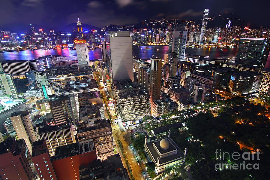 Hong Kong Photograph - Tsim Sha Tsui In Hong Kong by Lars Ruecker