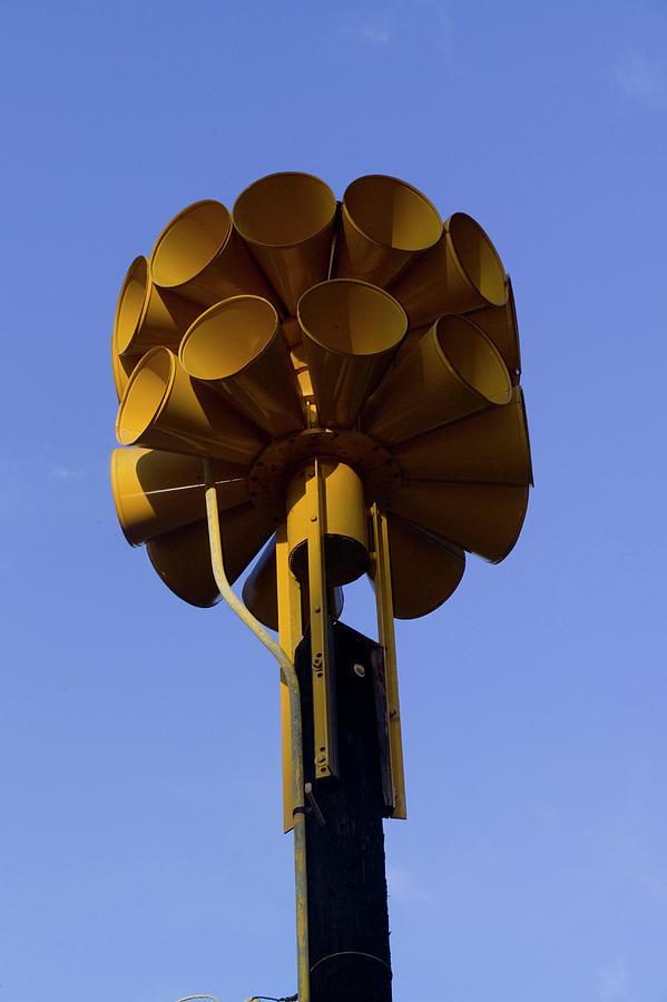 tsunami warning system sirens photograph by jonathan kingston