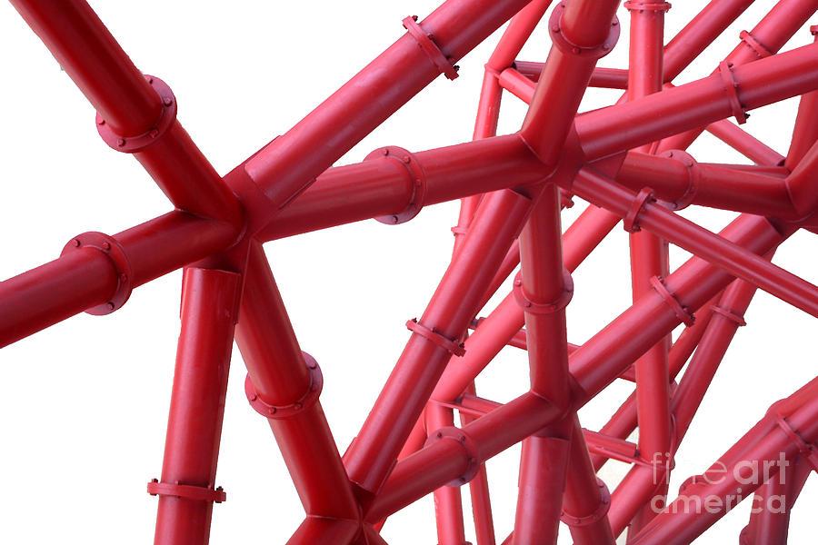 Arcelormittal Orbit Digital Art - Tubes by Roger Lighterness