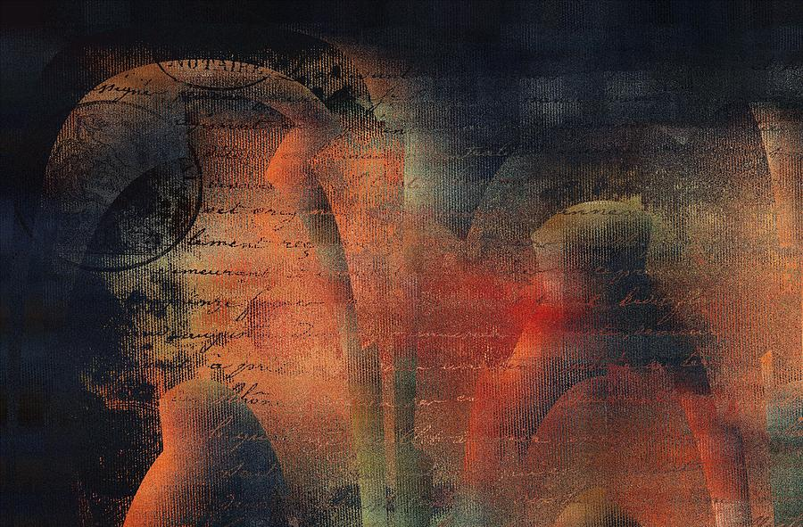 Abstract Digital Art - Tubulence - S03ac01 by Variance Collections