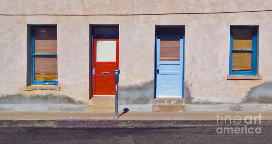 Tucson Photograph - Tucson Arizona Doors by Gregory Dyer