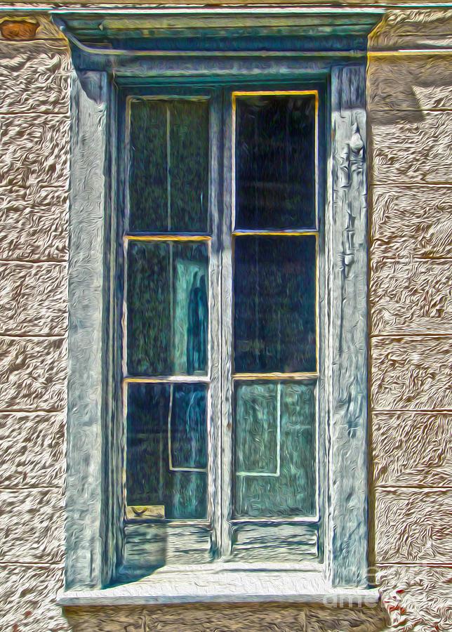 Tucson Photograph - Tucson Arizona Window by Gregory Dyer