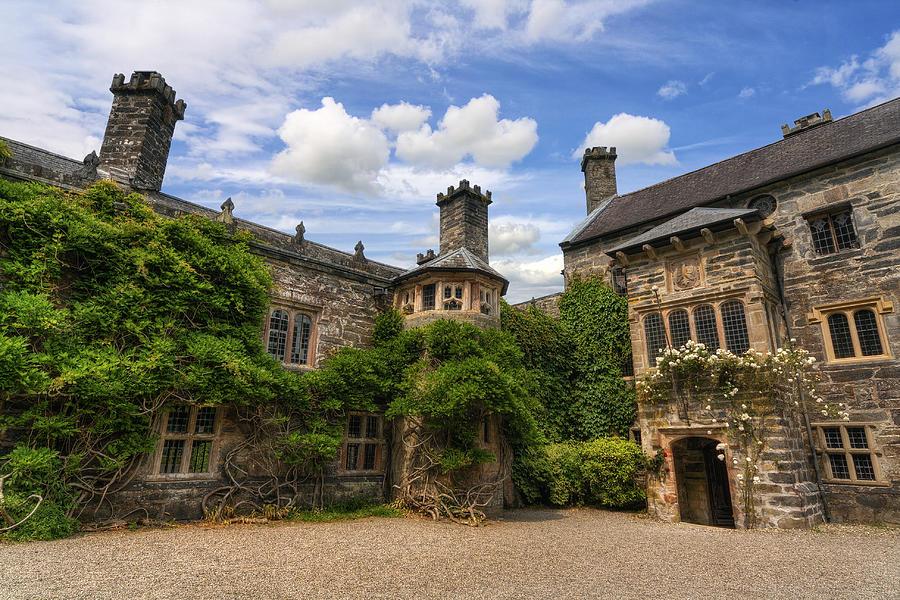 Castle Photograph - Tudor Castle by Ian Mitchell