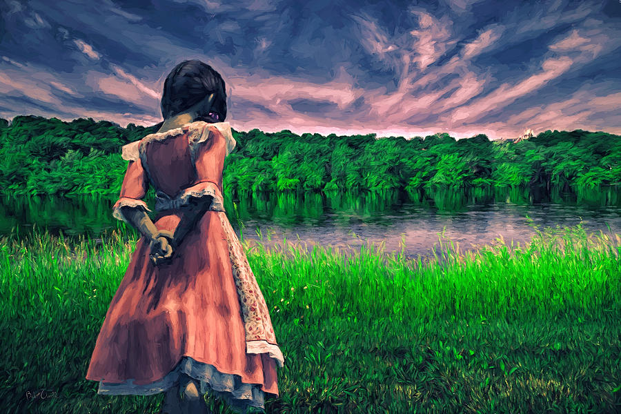 Innocence Painting - Tuesdays Child by Bob Orsillo