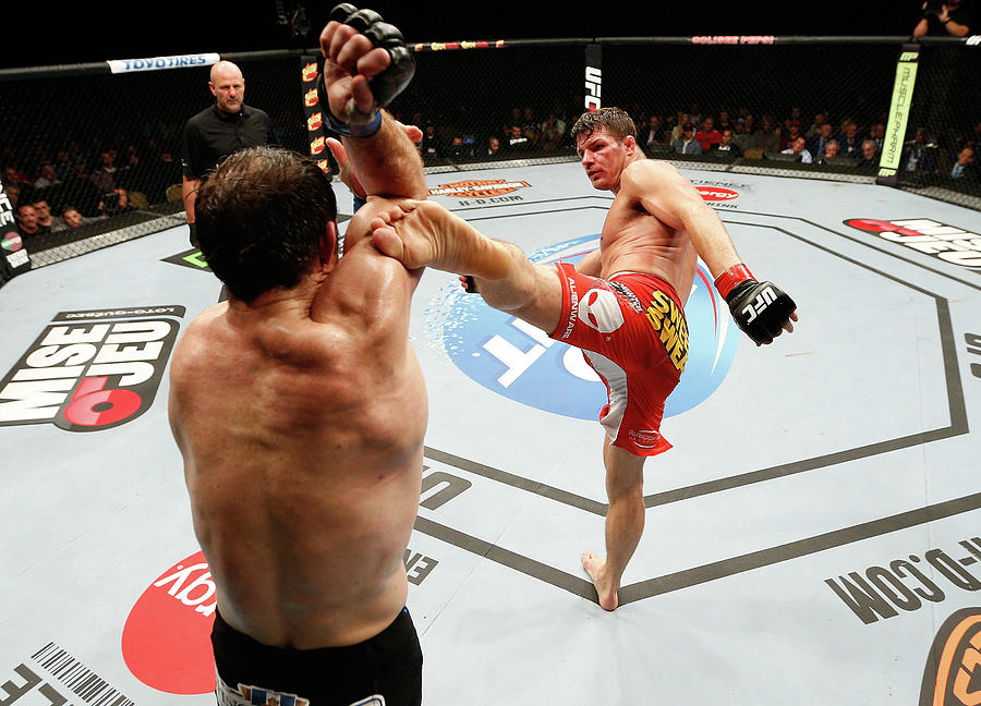 Tuf Nations Finale Bisping V Kennedy Photograph by Josh Hedges/zuffa Llc