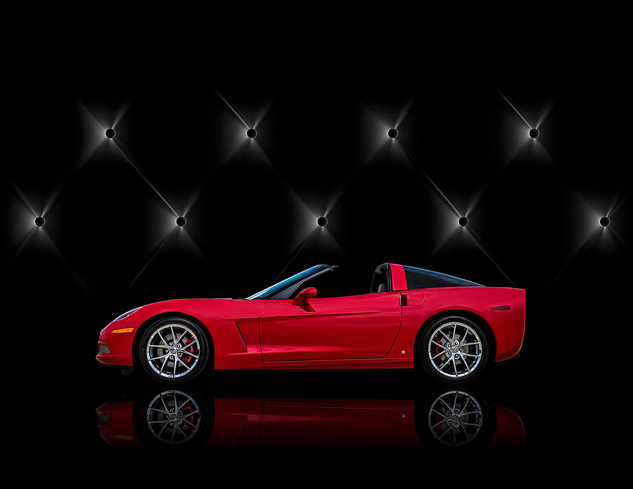 Corvette Digital Art - Tuff Enough by Douglas Pittman