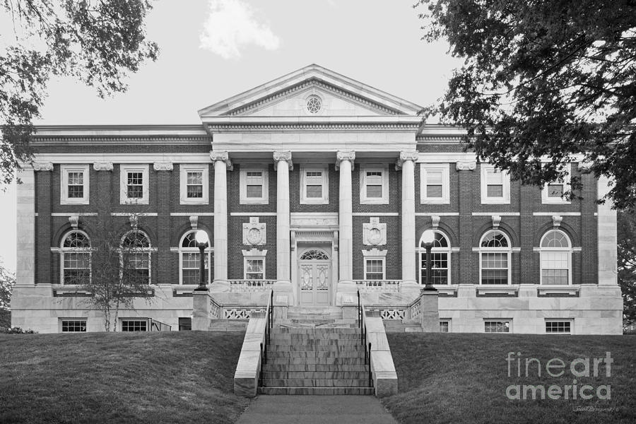 Carnegie Library Photograph - Tufts University Eaton Hall by University Icons