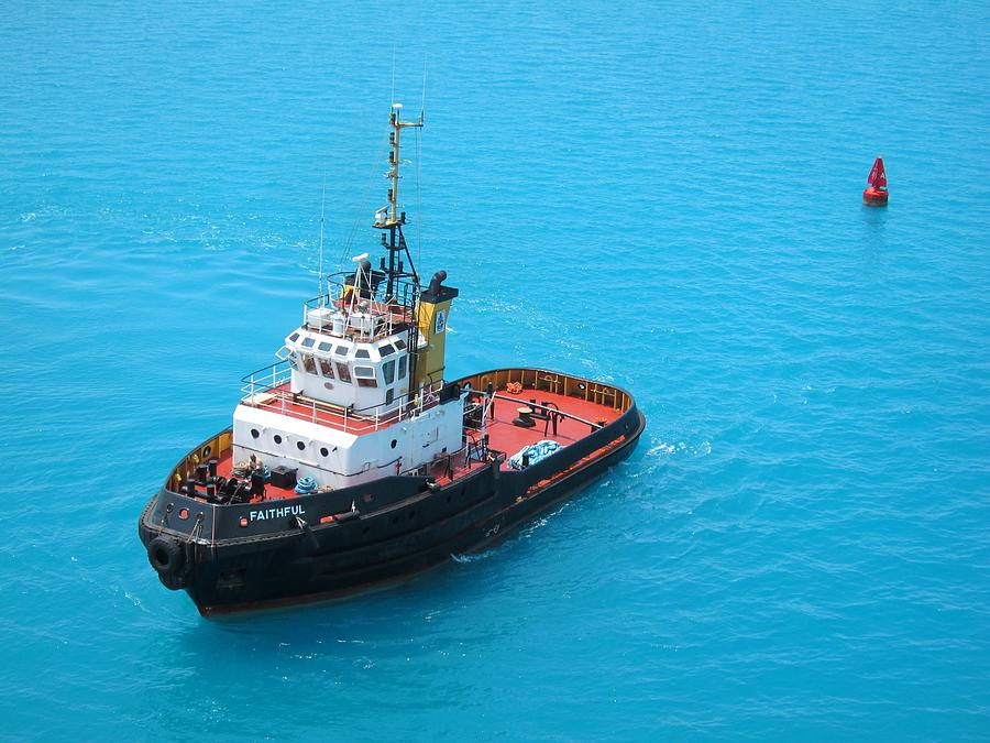 Tugboat Photograph - Tugboat At The Ready by Gordon Cain