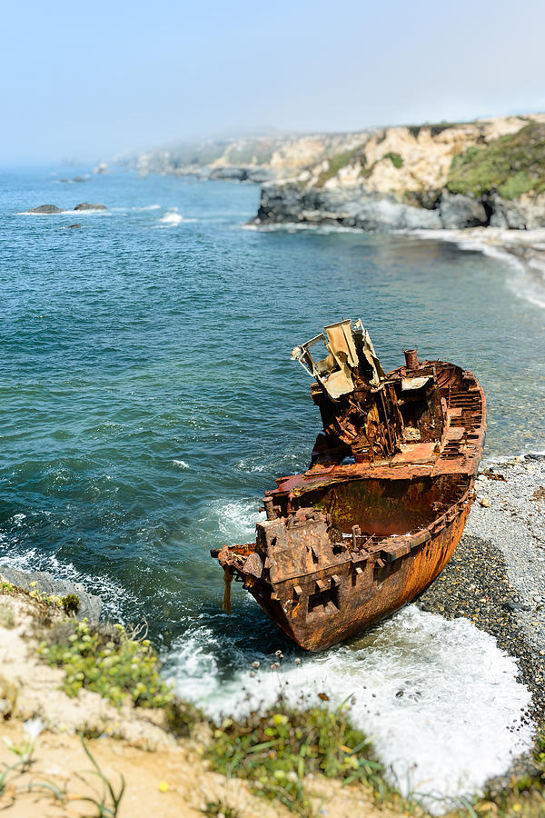 Shipwreck Photograph - Tugboat Klemens I by Marco Oliveira