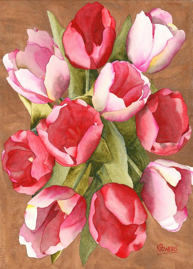 Tulip Bouquet by Ken Powers