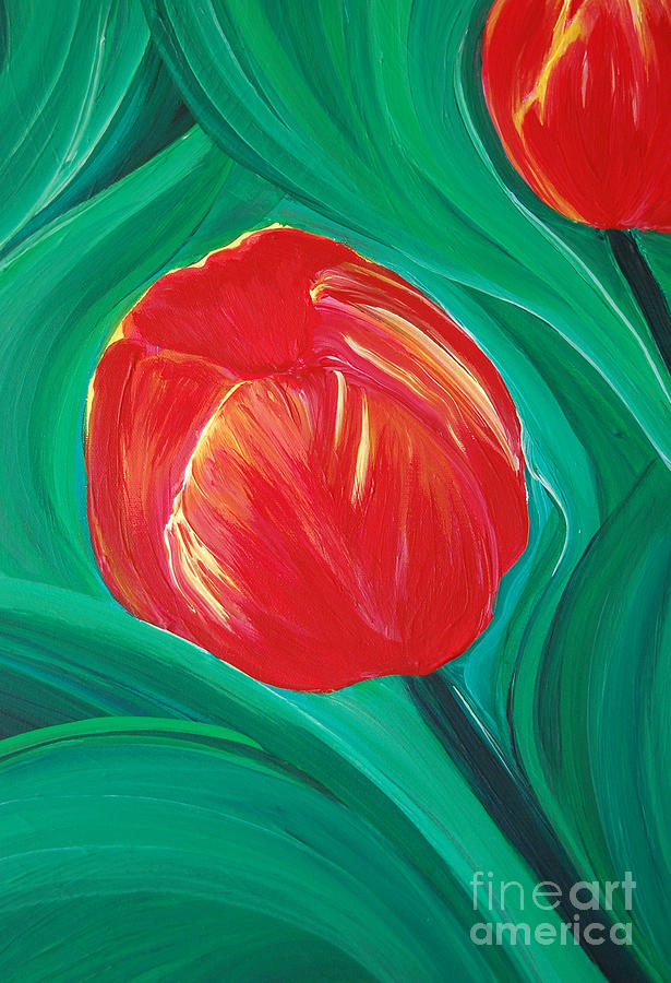 First Star Art Painting - Tulip Diva By Jrr by First Star Art
