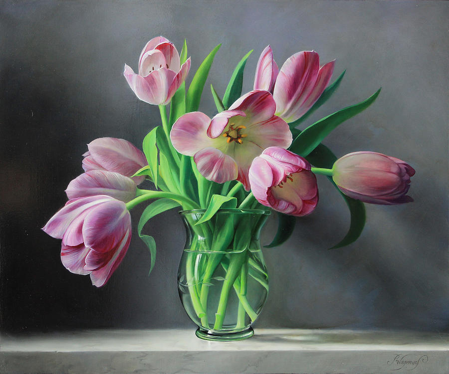 Tullips Painting - Tullips from Holland by Pieter Wagemans