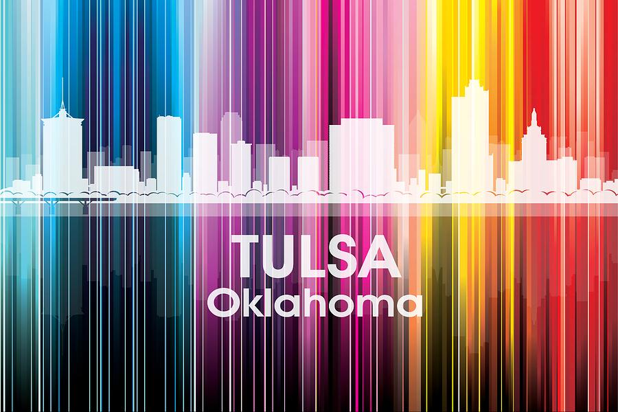 Tulsa Mixed Media - Tulsa Ok 2 by Angelina Tamez