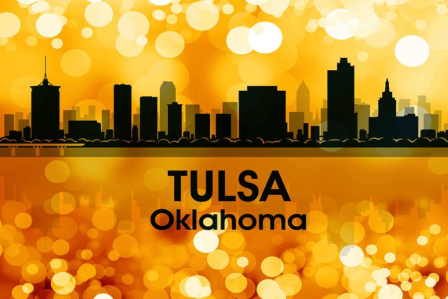 Tulsa Mixed Media - Tulsa Ok 3 by Angelina Tamez