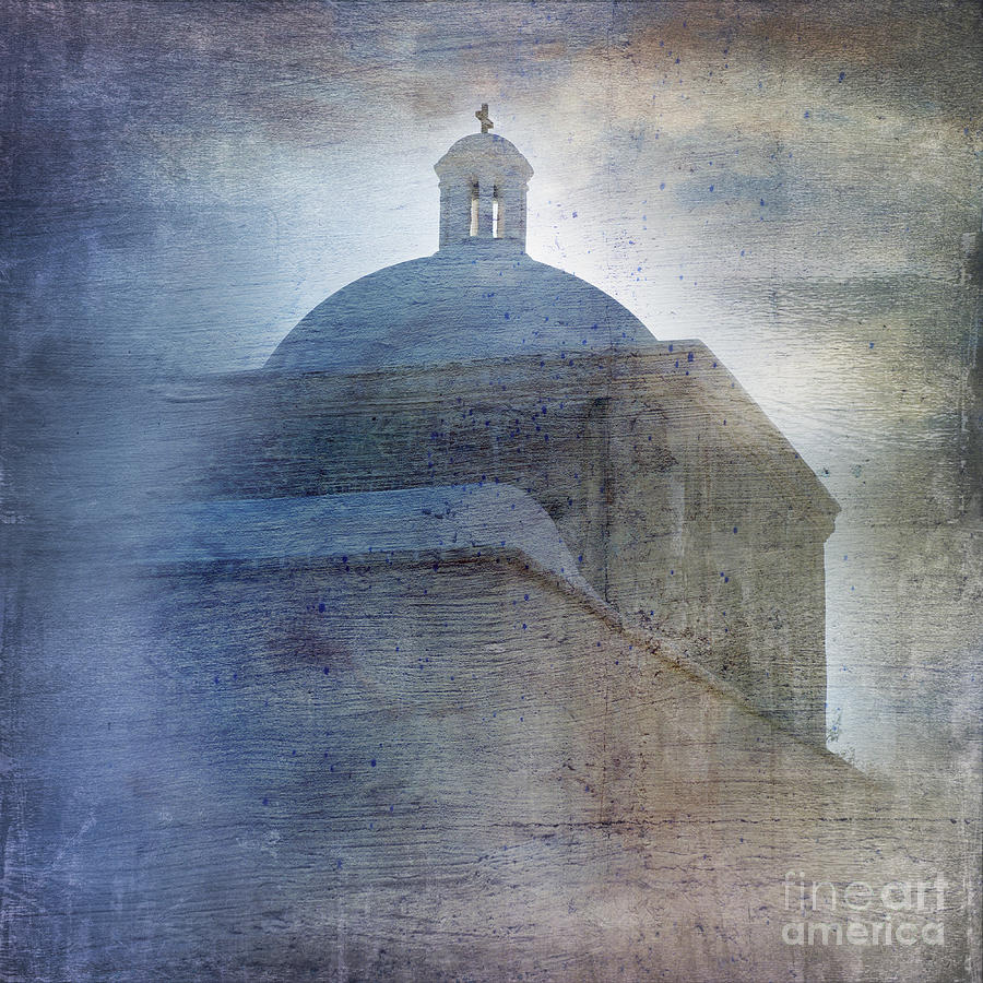 Building Photograph - Tumacacori Afternoon by Sandra Bronstein