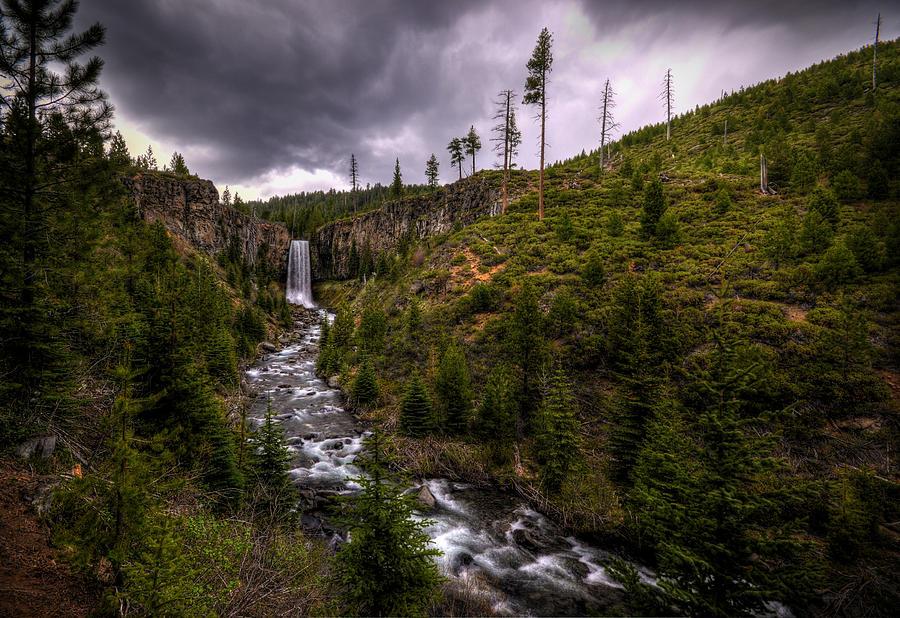 Tumalo Falls by Matt Hanson