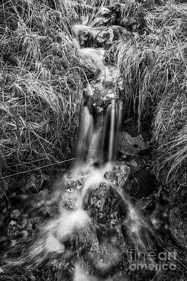 Beautiful Scotland Photograph - Tumbling Water by John Farnan