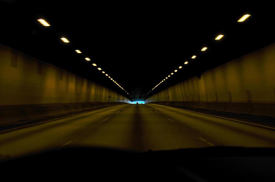 Tunnel Photograph - Tunnel by Brett Kurtz