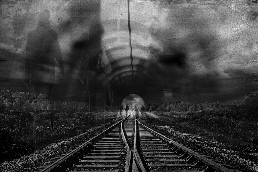 Tunnel People Digital Art By Danica Radman