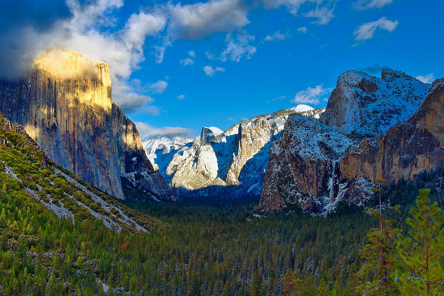 Yosemite Photograph - Tunnel View by Mark Whitt