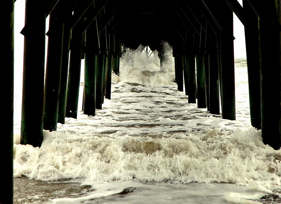 Seascapes Photograph - Tunnel Vision by Karen Wiles