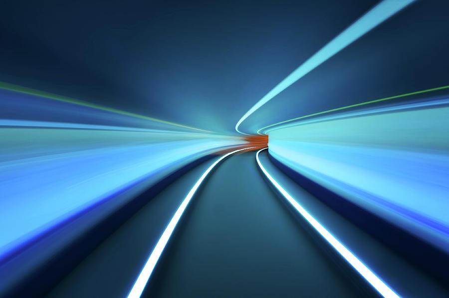 Dubai Photograph - Tunnel Vision by Robert Work