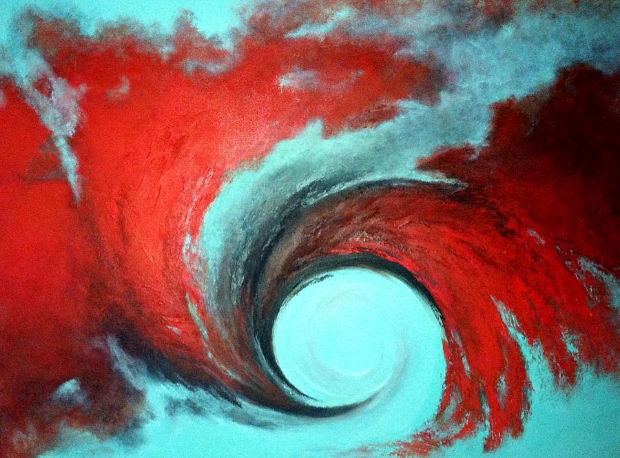 Turbulence Painting by Marina Hanson