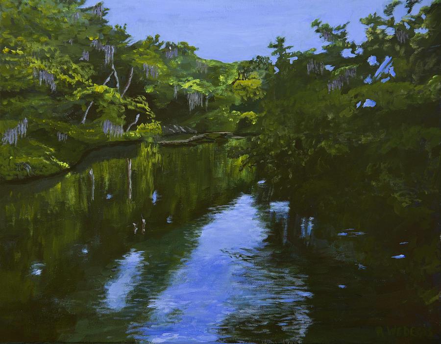Turkey Creek Painting - Turkey Creek by Roger Wedegis
