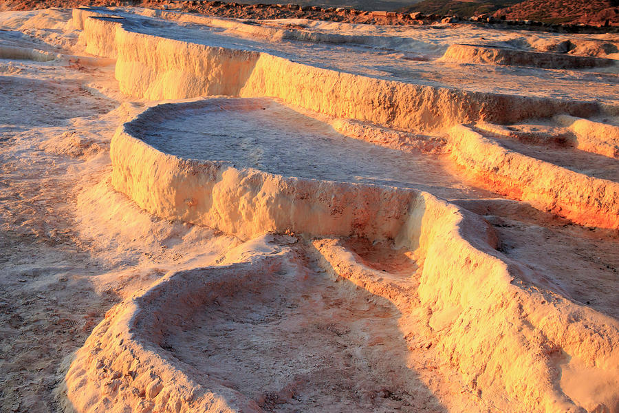 Asia Photograph - Turkey, River Menderes Valley, Pamukkale by Emily Wilson