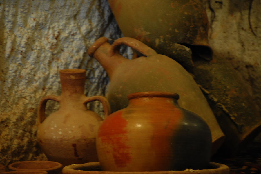 Pottery Photograph - Turkish Pottery by Jacqueline M Lewis