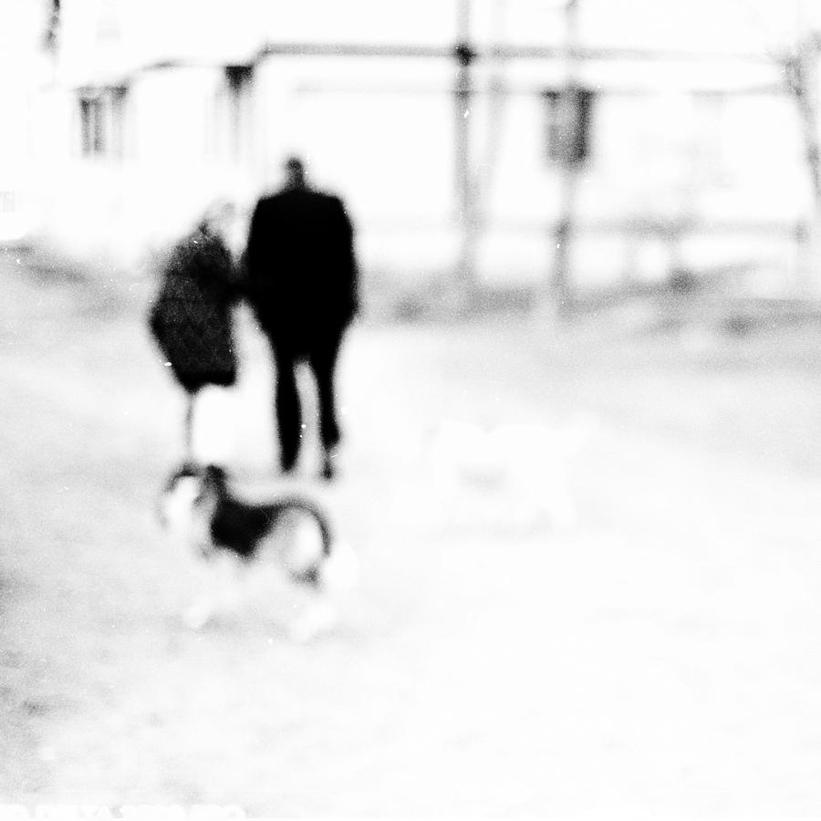Old Photograph - Turn Out Of Focus by Alexandra Pastoukhova