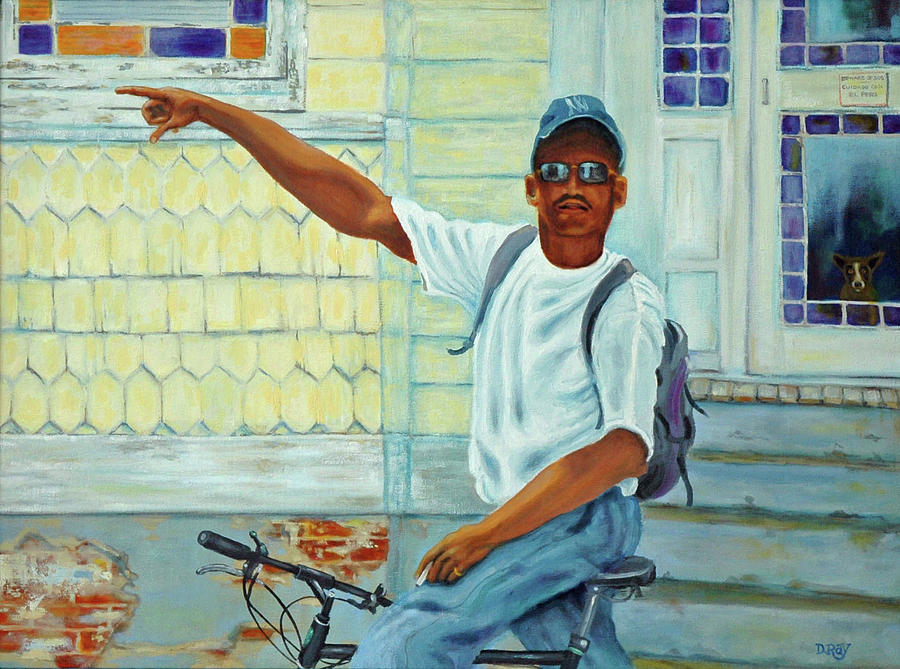 Charleston Painting - Turn Right On King Street by Dwain Ray