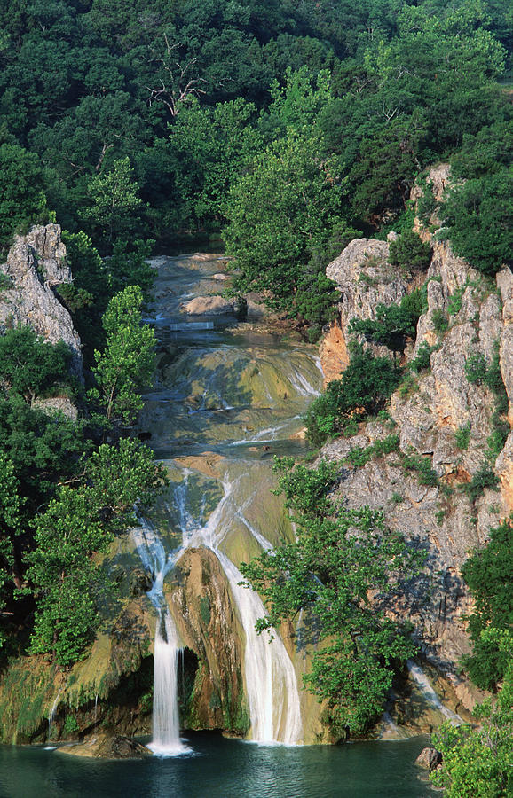 Turner Falls, Arbuckle Mountains Photograph by John Elk