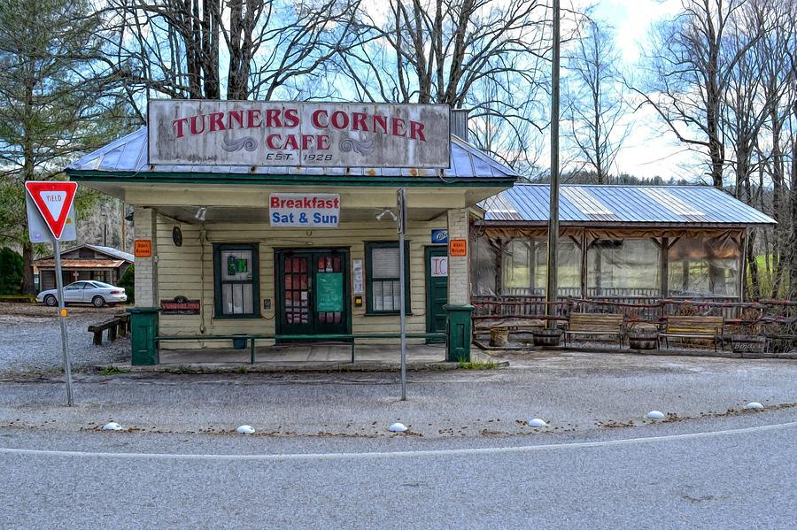 Turners Corner Digital Art - Turners Corner by Bob Jackson