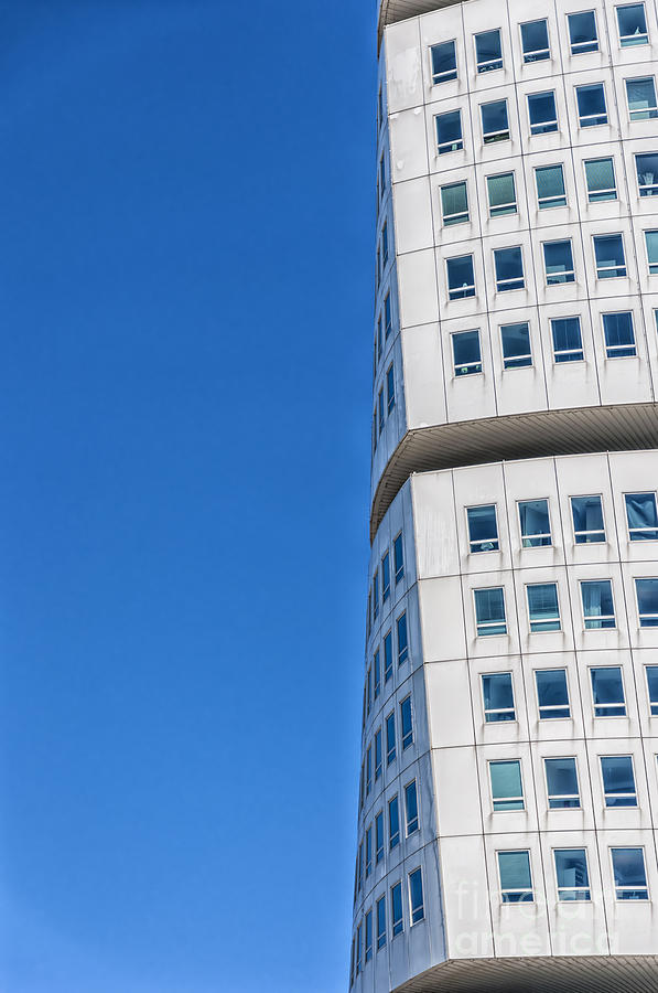 Sweden Photograph - Turning Torso Skyscraper by Antony McAulay