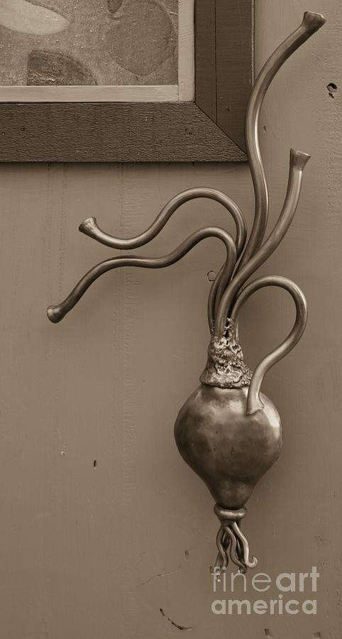 Turnip door handle Heidi Erickson sculpture by Kathi Shotwell