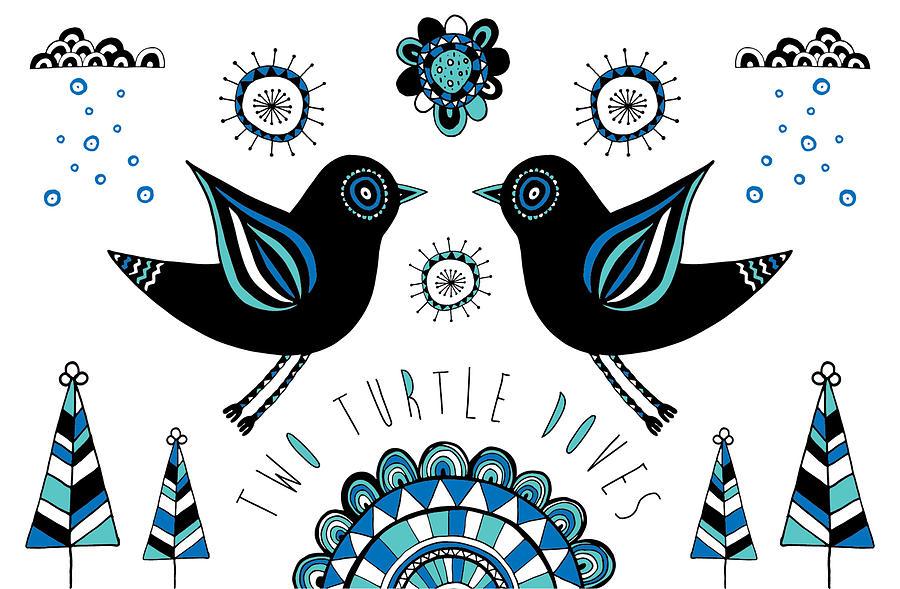 Susan Claire Photograph - Turtle Dove by Susan Claire
