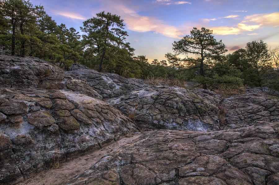 Turtle Rocks Photograph - Turtle Rocks Atop Petit Jean Mountain - Arkansas by Jason Politte