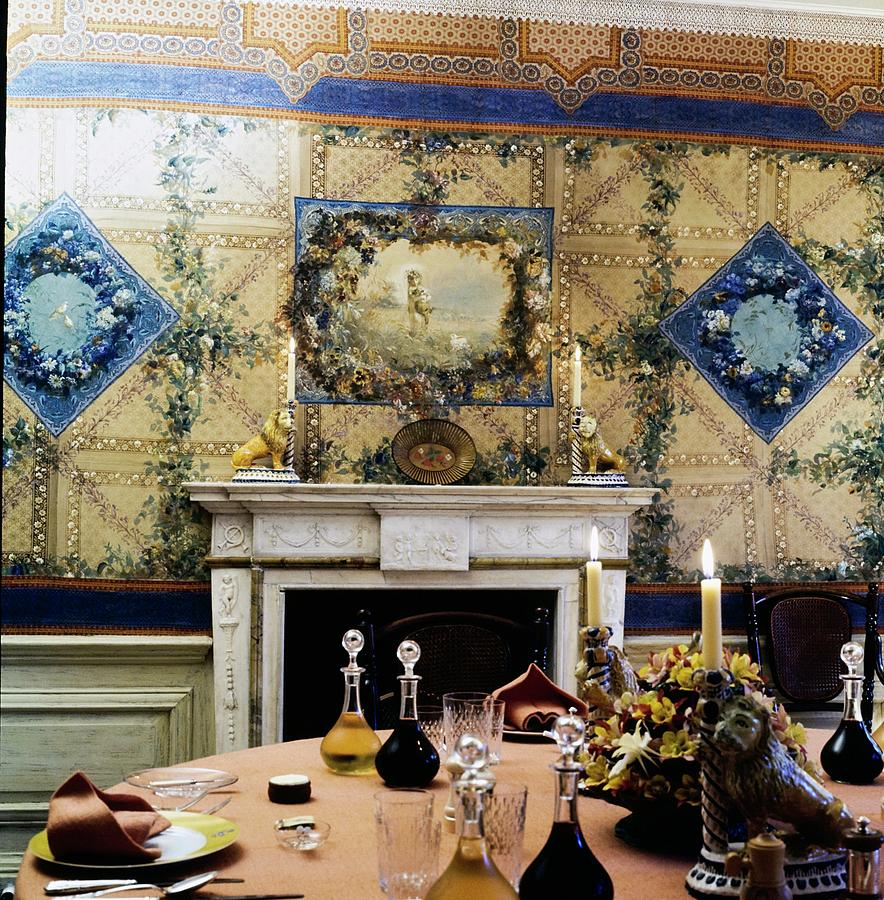 Turville Grange Dining Room Photograph by Horst P. Horst